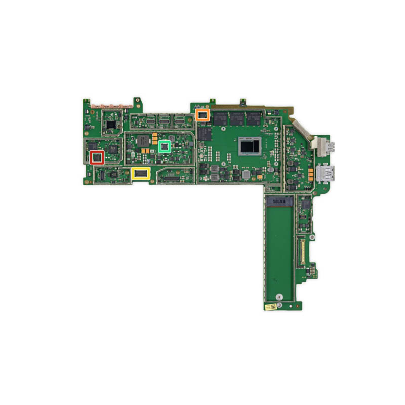 Microsoft Surface Pro 4 Motherboard in Dubai