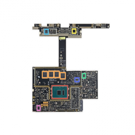Microsoft Surface Book Motherboard in Dubai